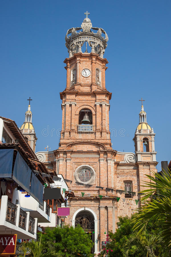 巴亚尔塔港,墨西哥 库存图片