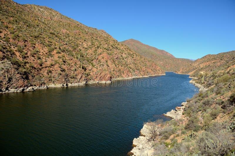 亚帕基印第安人亚利桑那湖 库存照片