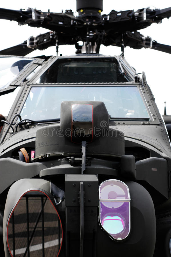 亚帕基印第安人直升机 库存图片