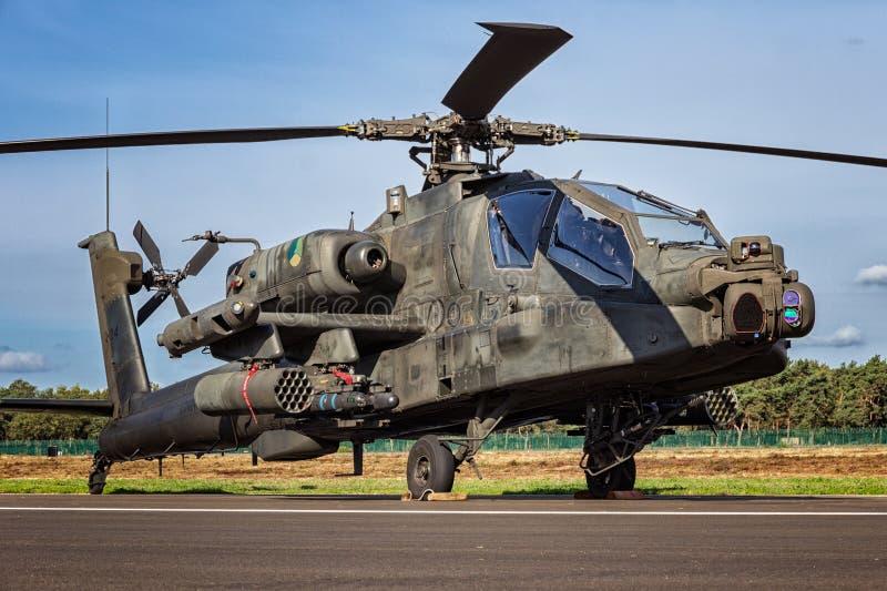 亚帕基攻击用直升机 免版税库存图片