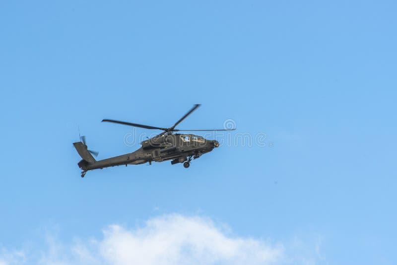 亚帕基直升机 免版税库存图片