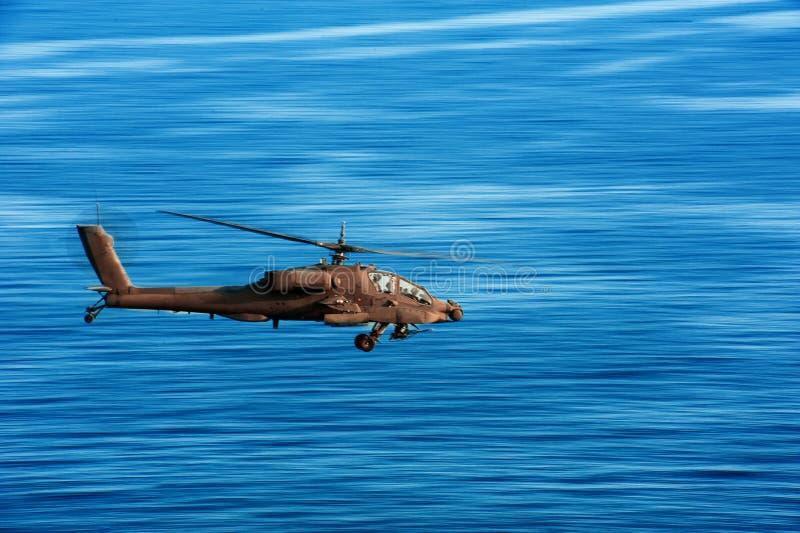 亚帕基直升机 库存照片