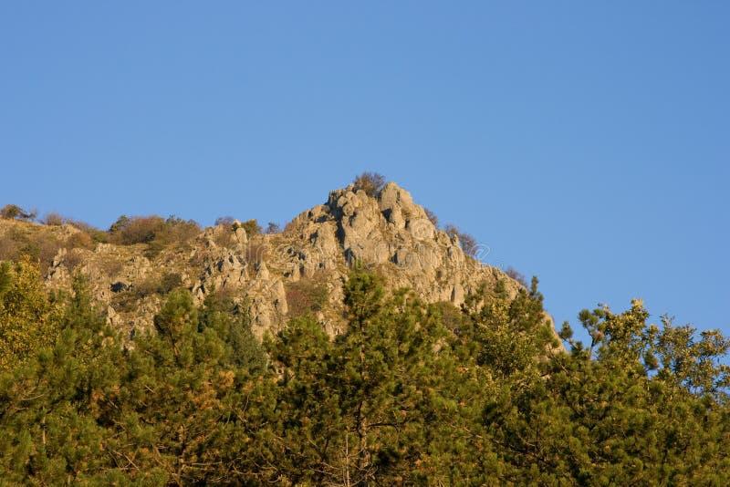 亚平宁山脉横向 免版税图库摄影
