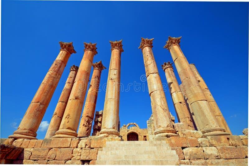 亚底米神庙 库存图片