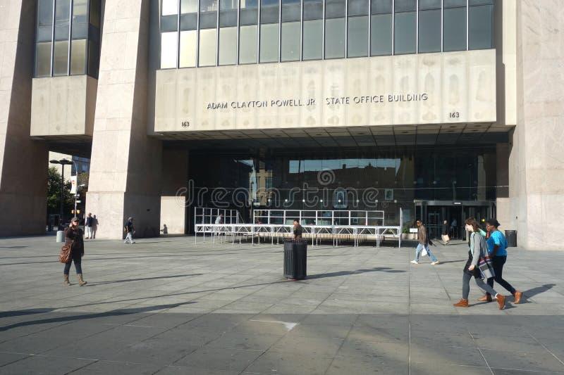 亚当・卡里顿力量小 状态办公楼 免版税库存照片