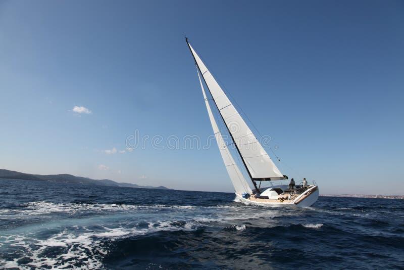 亚得里亚海的航行海运 免版税图库摄影