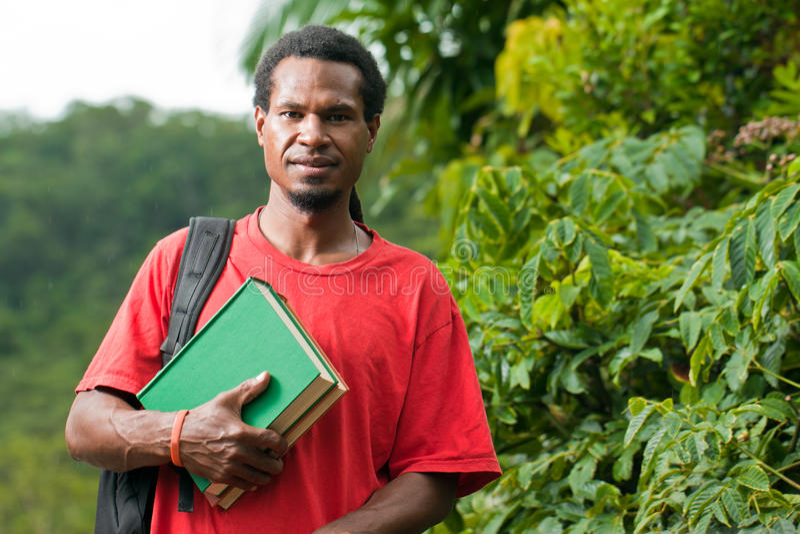 亚洲东部男性南学员年轻人 免版税库存图片