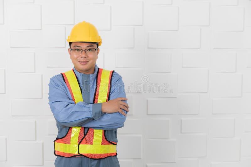 亚洲人工作 免版税库存图片