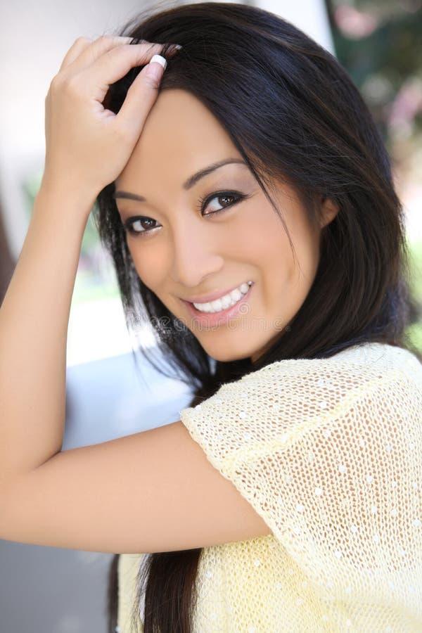 亚洲人相当性感的妇女 免版税图库摄影