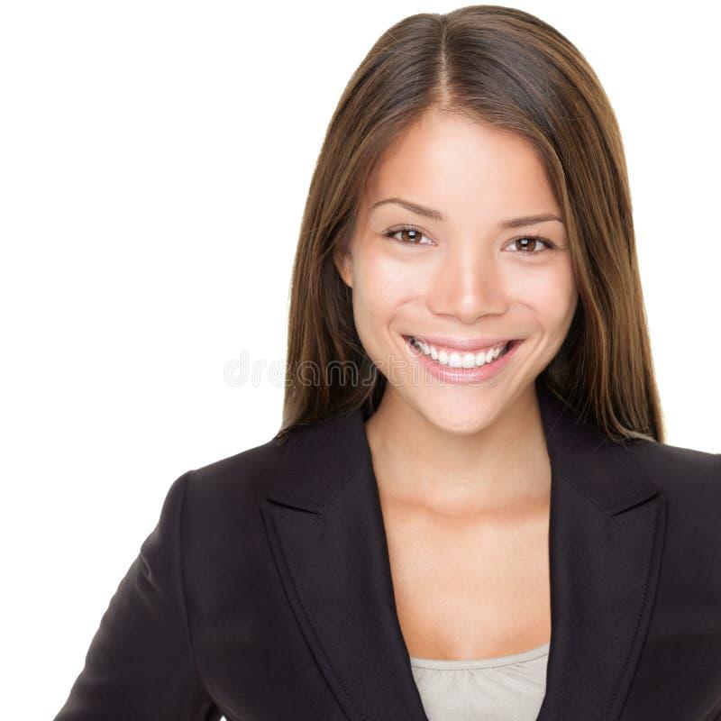 亚洲企业女实业家人年轻人 库存照片