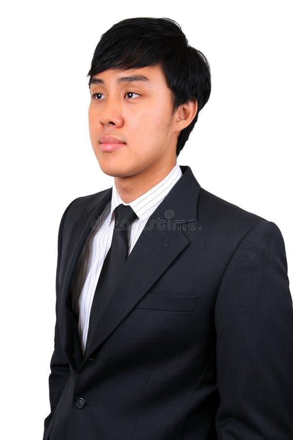 亚洲企业确信的人年轻人 库存图片