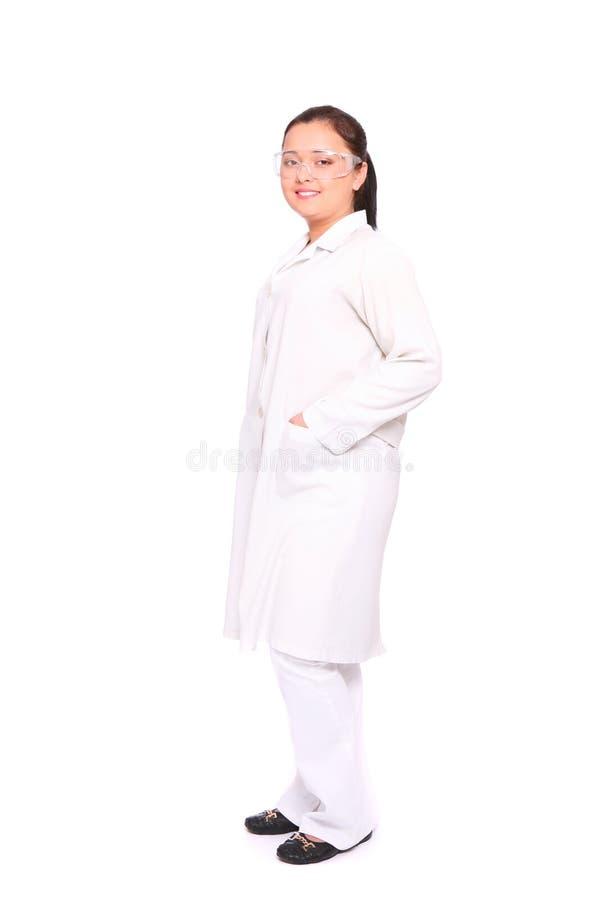 亚洲医生微笑 图库摄影