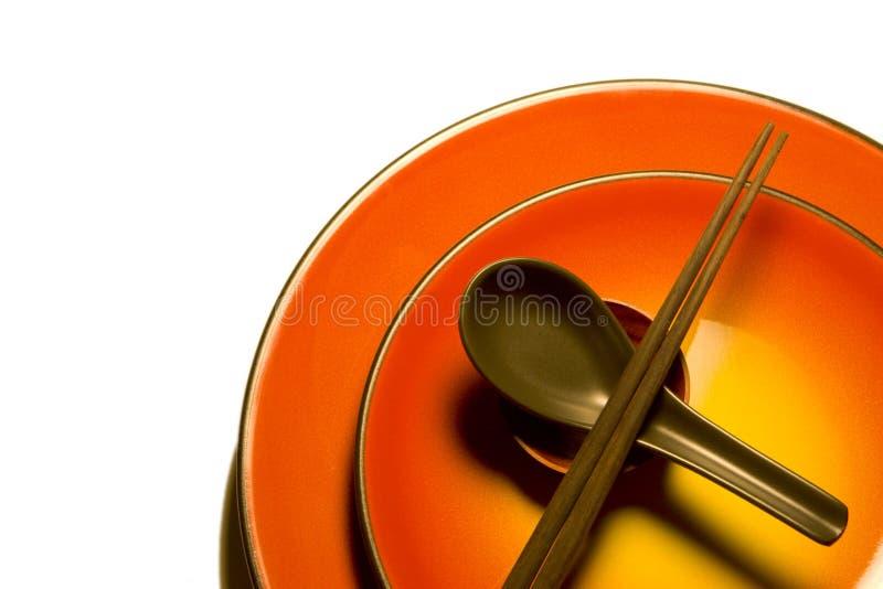 亚洲厨具C 库存图片