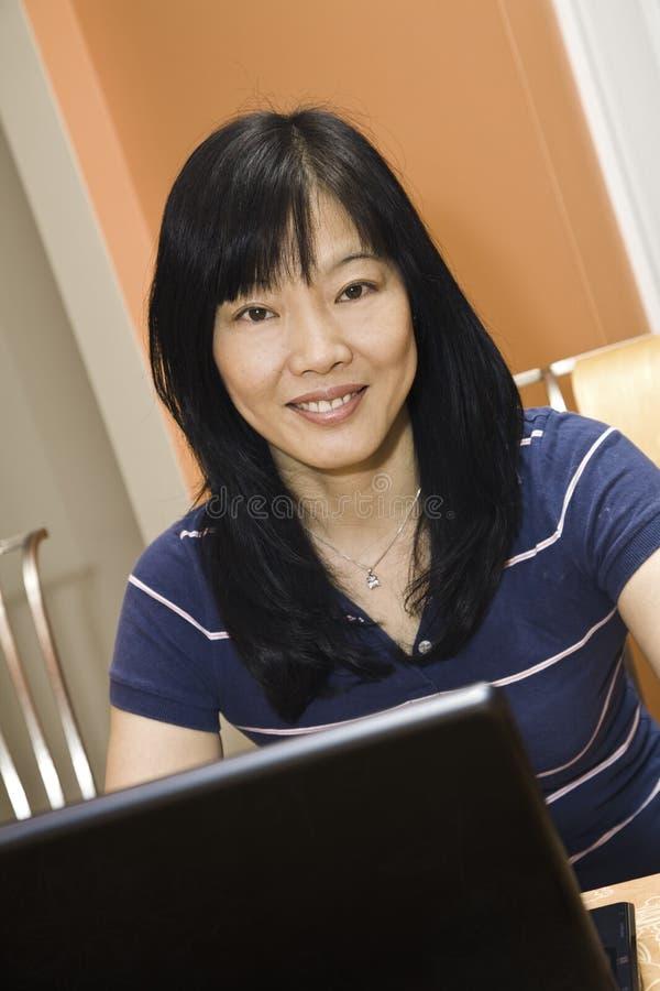 亚洲商业 免版税库存照片