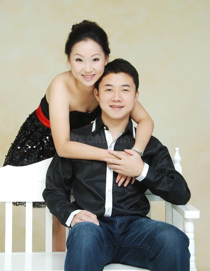 亚洲夫妇 图库摄影