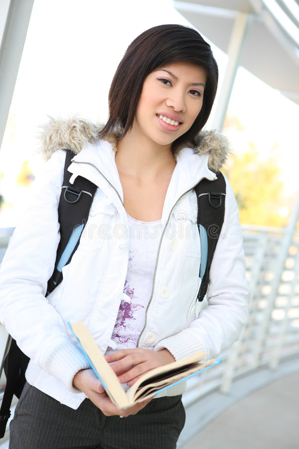 亚洲女孩学校年轻人 库存图片