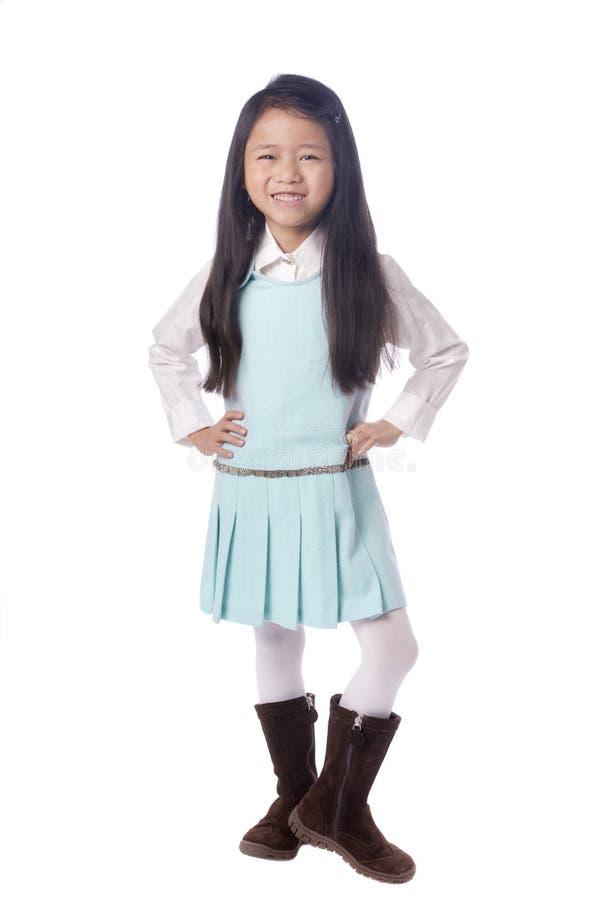 亚洲女孩年轻人 免版税图库摄影