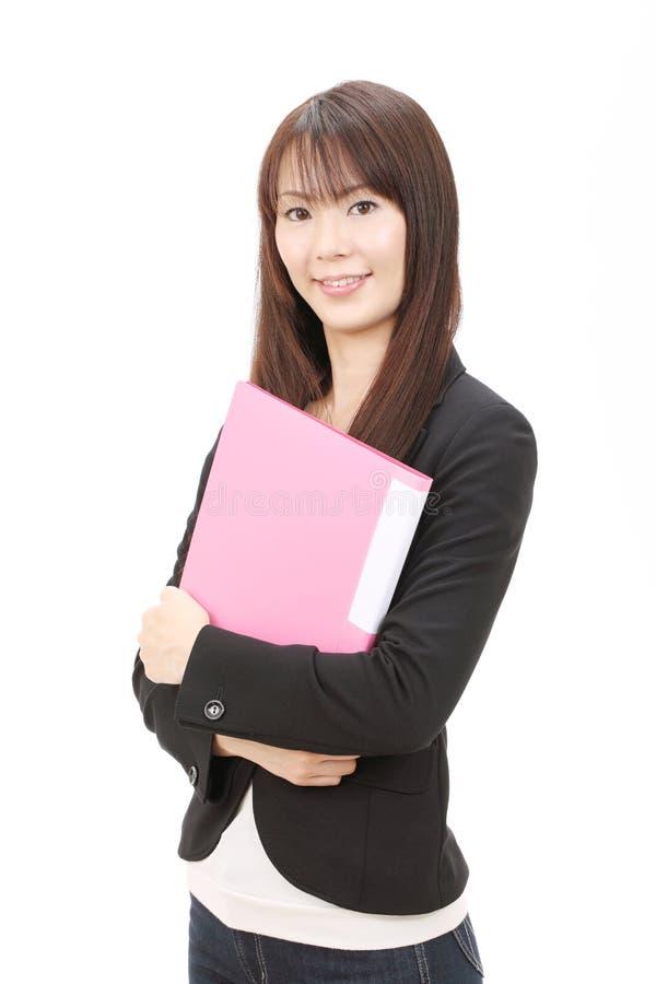 亚洲女实业家年轻人 图库摄影