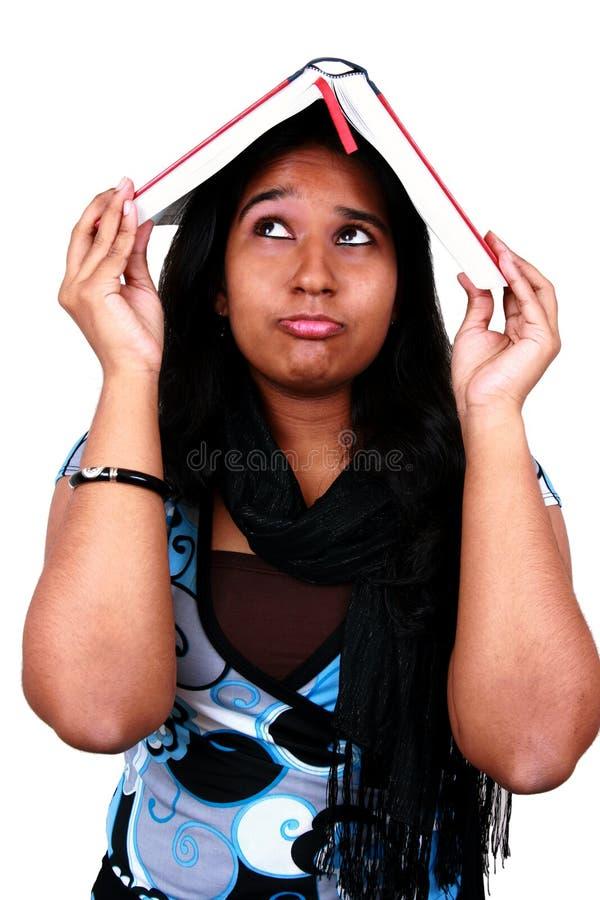 亚洲学员年轻人 库存图片