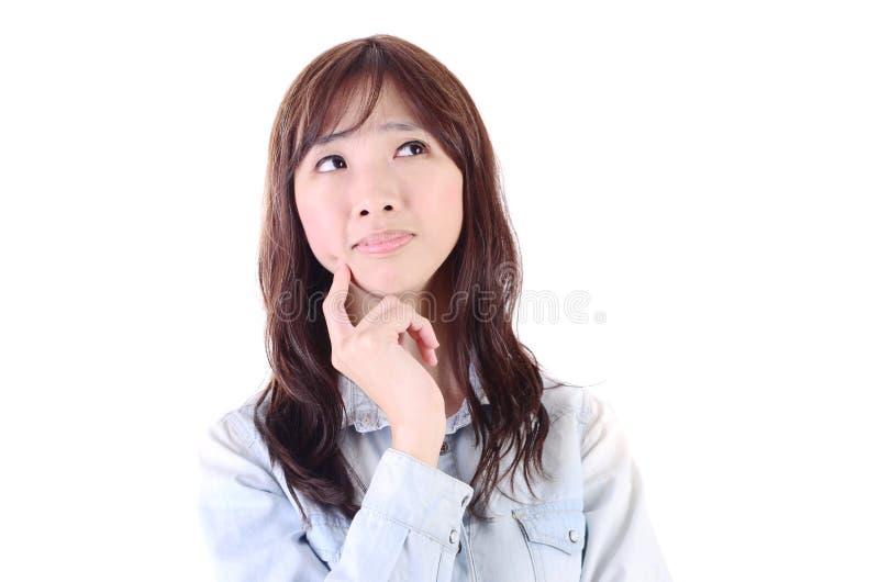 亚洲年轻美丽 图库摄影