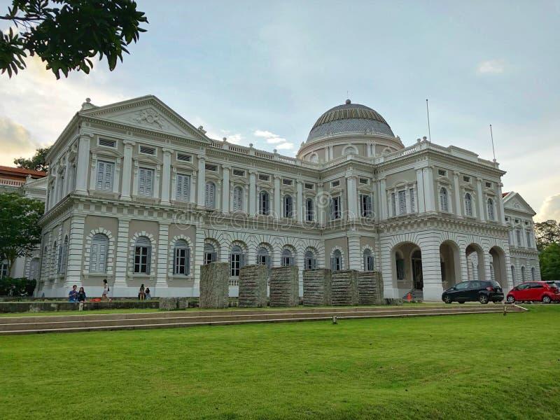 亚洲文明博物馆在新加坡 免版税库存图片