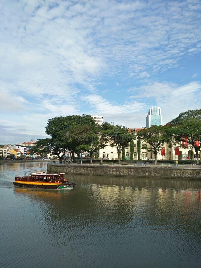 亚洲文明博物馆,新加坡 免版税库存照片