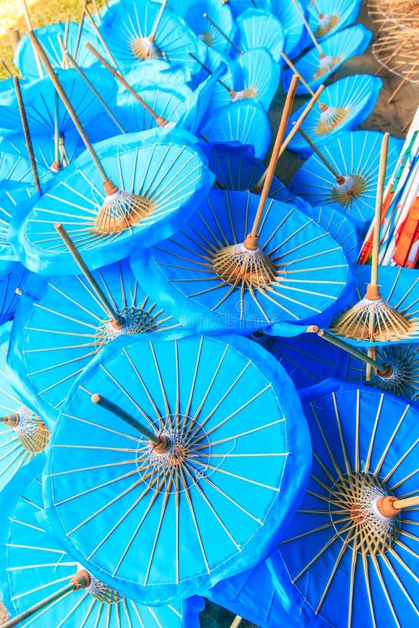 亚洲样式伞 库存照片