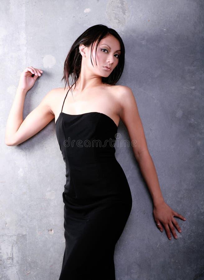 亚洲正式魅力 库存照片
