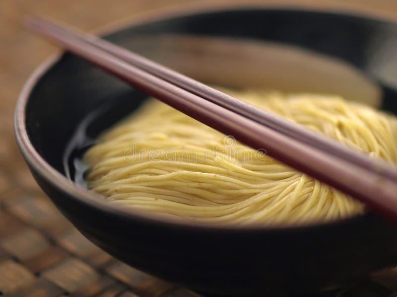 亚洲汤面 免版税库存图片