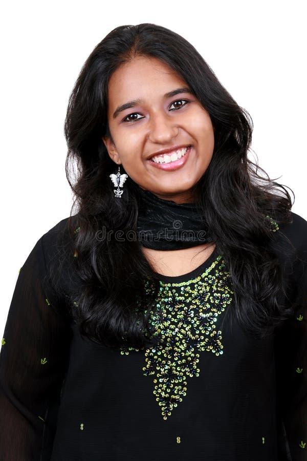 亚洲美丽的女孩年轻人 免版税库存图片