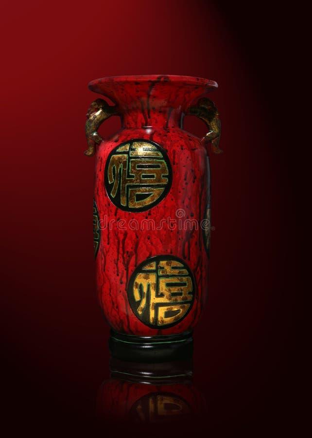 亚洲花瓶 免版税库存图片