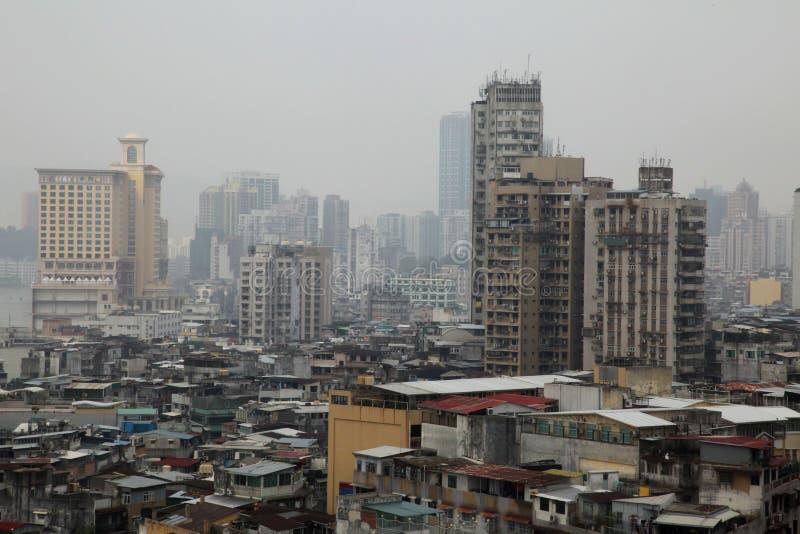 亚洲贫民窟 免版税库存图片