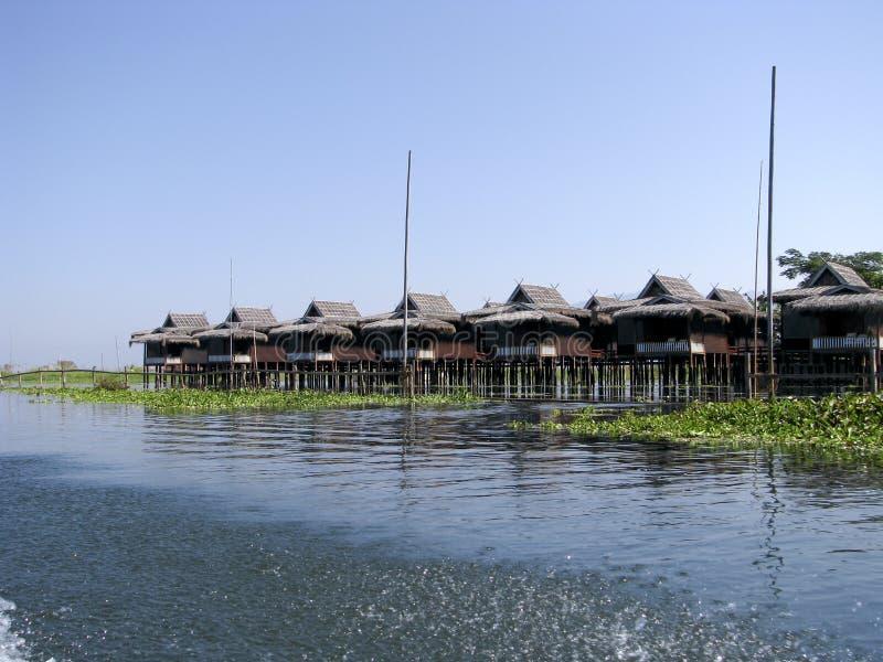 亚洲inle湖缅甸旅行 免版税库存图片
