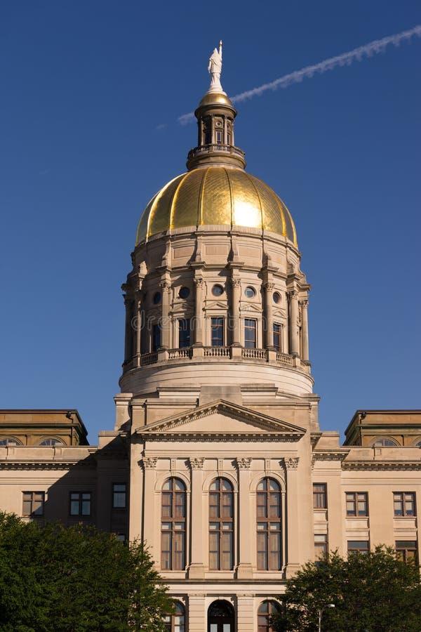 亚特兰大乔治亚国家资本金圆顶城市建筑学 免版税库存图片