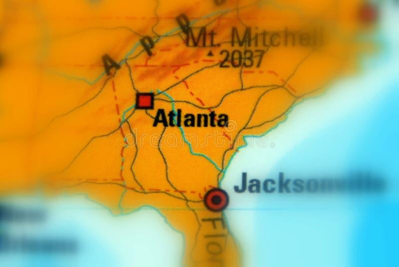 亚特兰大,乔治亚,美国U S 免版税库存照片