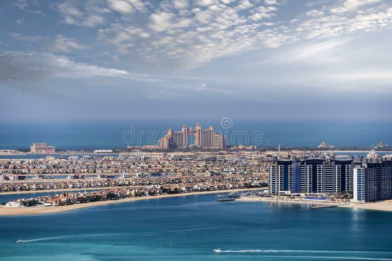 亚特兰提斯棕榈,迪拜,阿拉伯联合酋长国 库存照片