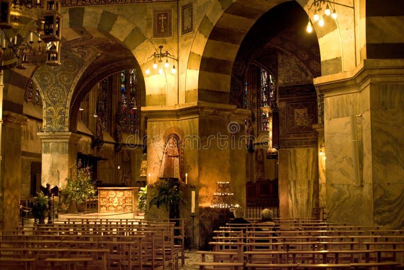 亚琛大教堂 免版税库存图片