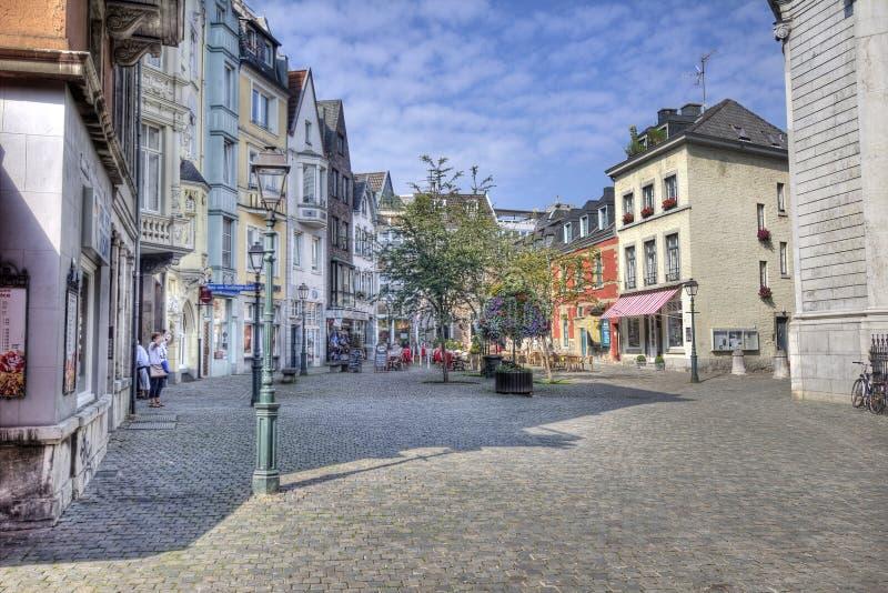 亚琛主教座堂在德国 免版税图库摄影