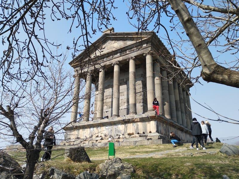 亚美尼亚共和国加尼大庙 库存图片