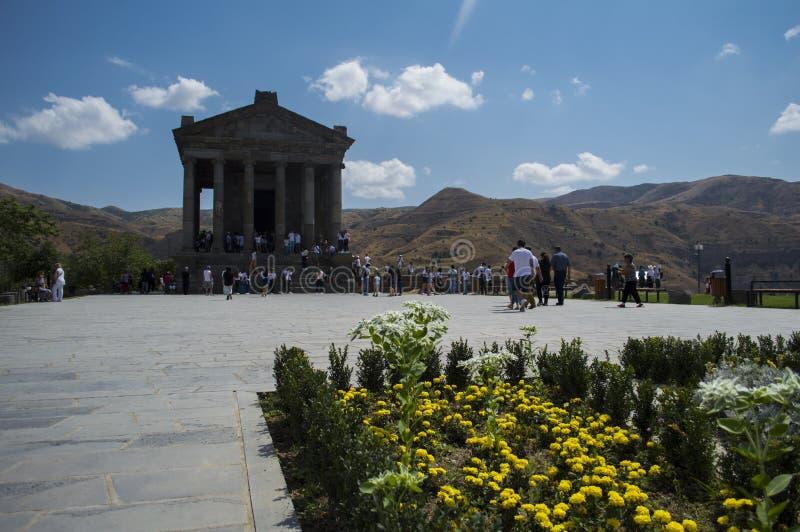 亚美尼亚共和国加尼神庙 免版税库存图片