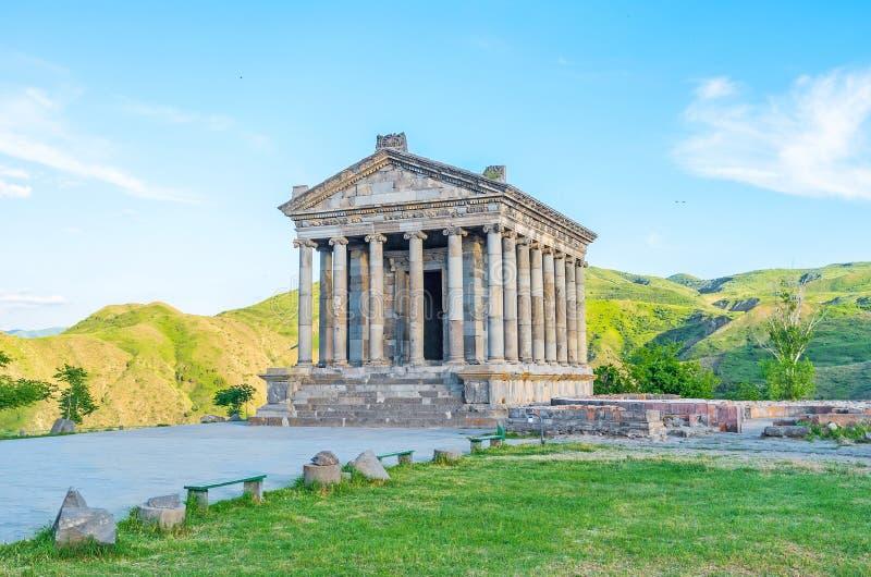 亚美尼亚古希腊寺庙 库存照片