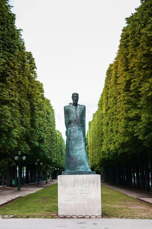 亚美尼亚种族灭绝纪念品巴黎 库存照片