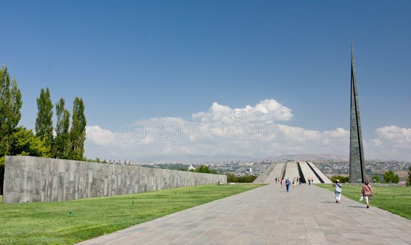 亚美尼亚种族灭绝纪念品 免版税库存图片