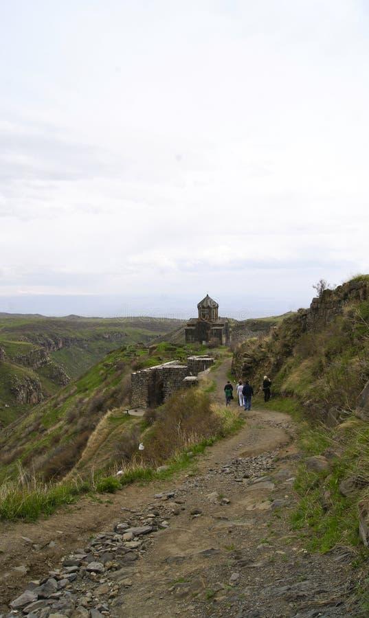 亚美尼亚,寺庙Ambert 库存图片