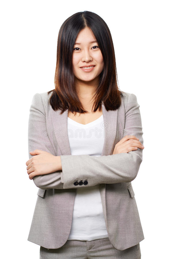 亚裔企业夫人 库存照片