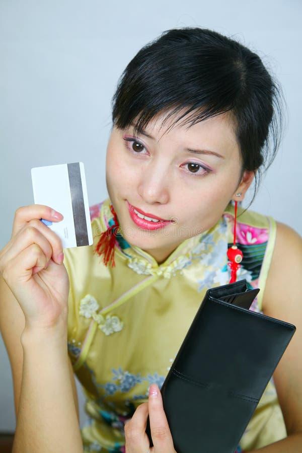 亚裔女商人 库存照片