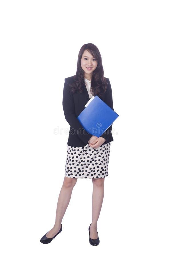 亚裔女商人 库存图片