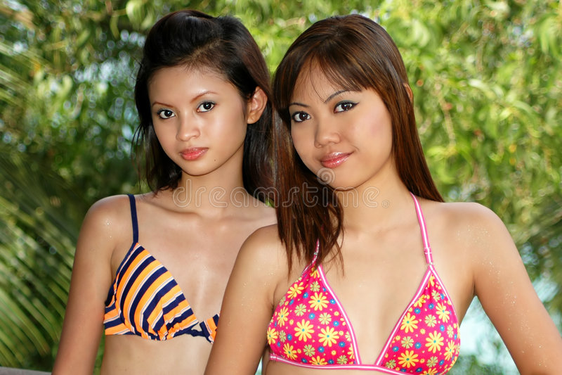 亚裔妇女 库存照片