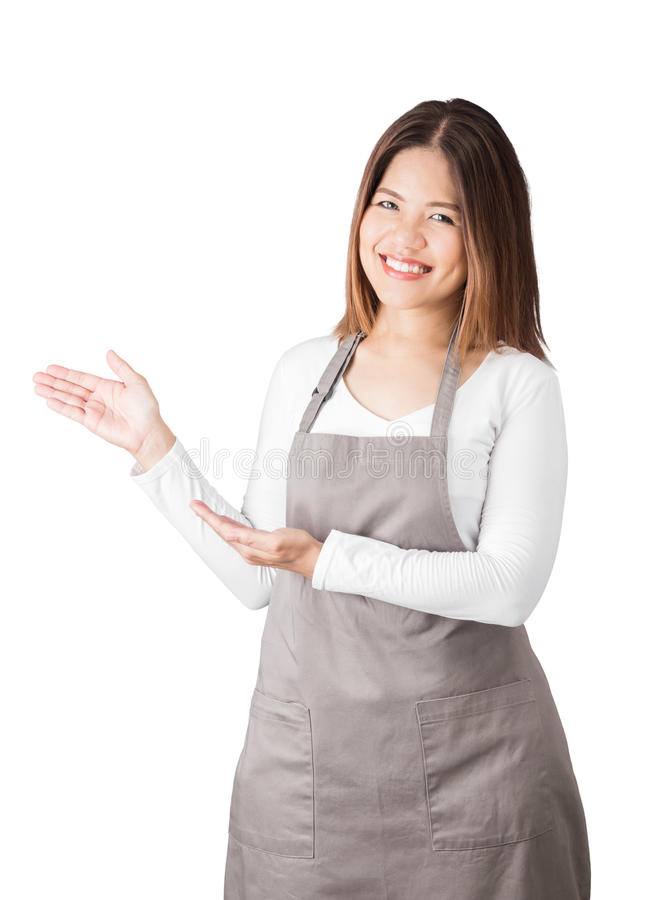 亚裔工作者 免版税库存图片