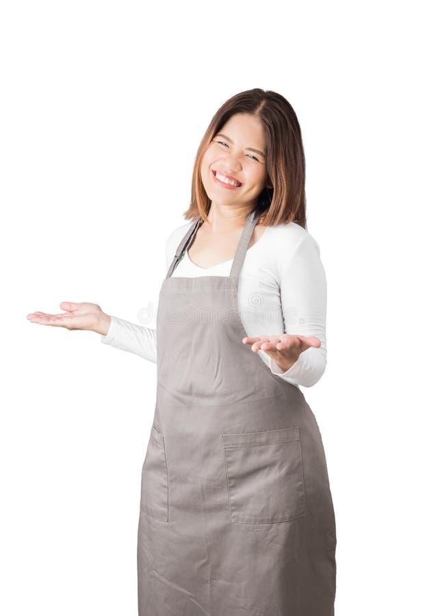 亚裔工作者 免版税库存照片